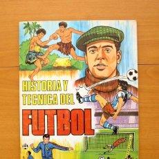 Álbum de fútbol completo: HISTORIA Y TECNICA DEL FUTBOL - RUIZ ROMERO 1977 - COMPLET0, VER EXPLICACIÓN Y FOTOS DENTRO. Lote 56963464