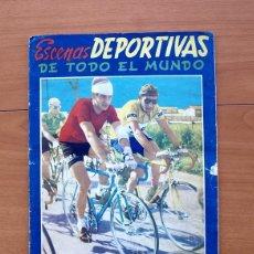 Álbum de fútbol completo: ESCENAS DEPORTIVAS DE TODO EL MUNDO - EDITORIAL FHER 1953 - COMPLETO. Lote 56970980