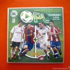 Álbum de fútbol completo: ÁLBUM, FICHERO PLAY LIGA 2007-2008, 07-08 - COMPLETO 240 CARTAS, FICHAS - PANINI. Lote 56979348