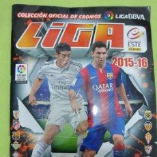 Álbum de fútbol completo: ALBUM FÚTBOL COMPLETO LIGA ESTE (2015 - 2016) - COLECCIÓN COMPLETA CROMOS -. Lote 56985484