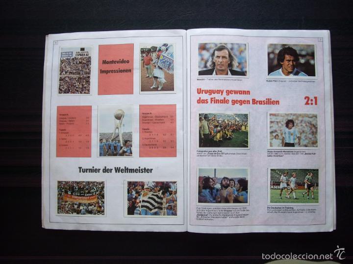 Álbum de fútbol completo: ALBUM DE CROMOS BERGMANN BUNDESLIGA 1981-82 - 100% COMPLETO - Foto 2 - 29758735