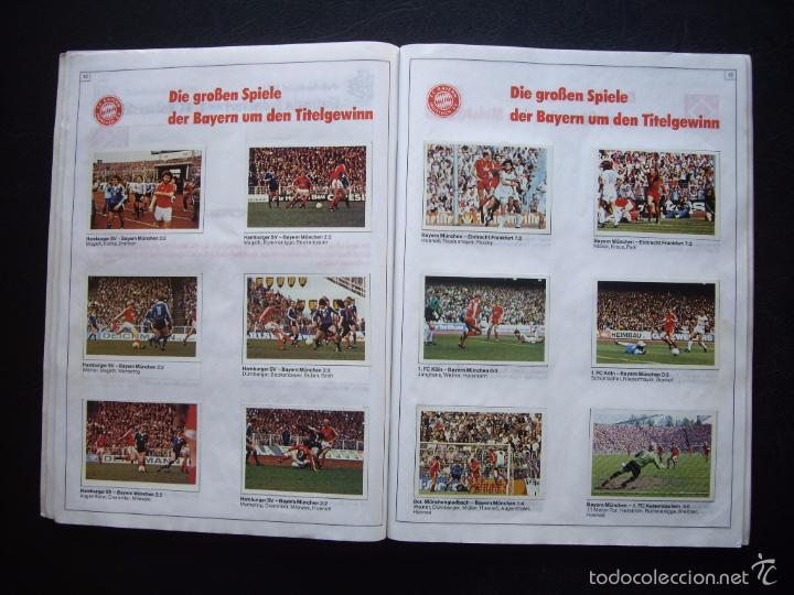Álbum de fútbol completo: ALBUM DE CROMOS BERGMANN BUNDESLIGA 1981-82 - 100% COMPLETO - Foto 3 - 29758735