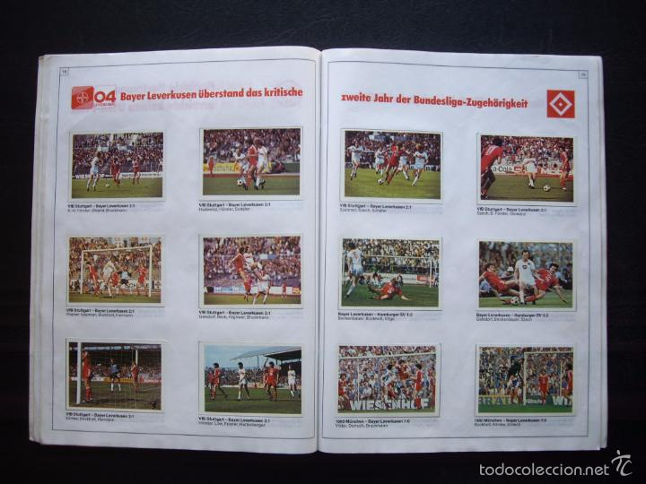 Álbum de fútbol completo: ALBUM DE CROMOS BERGMANN BUNDESLIGA 1981-82 - 100% COMPLETO - Foto 5 - 29758735