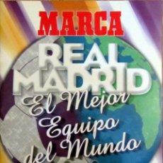 Álbum de fútbol completo: ALBUM CROMO MARCA REAL MADRID LA SEPTIMA COPA DE EUROPA 20 PARTIDOS DE LEYENDA. Lote 57141333