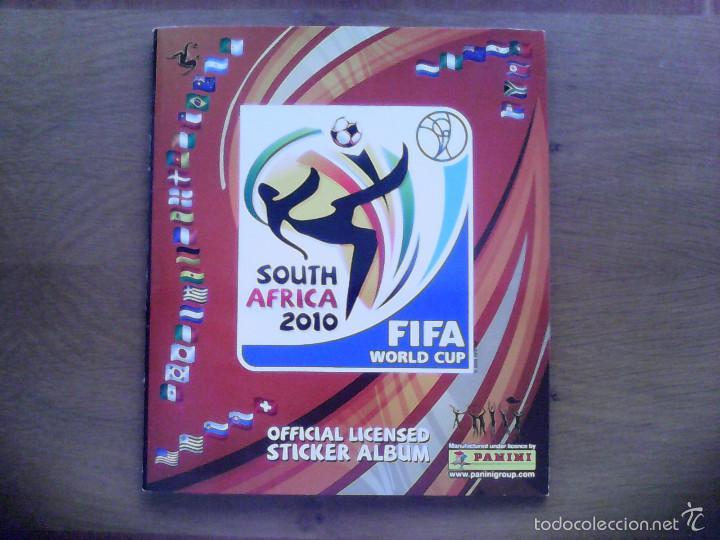ALBUM FIFA WORLD CUP SOUTH AFRICA MUNDIAL FUTBOL 2010. COMPLETO.MUY BUEN ESTADO. PANINI (Coleccionismo Deportivo - Álbumes y Cromos de Deportes - Álbumes de Fútbol Completos)