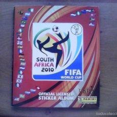Álbum de fútbol completo: ALBUM FIFA WORLD CUP SOUTH AFRICA MUNDIAL FUTBOL 2010. COMPLETO.MUY BUEN ESTADO. PANINI. Lote 57448516