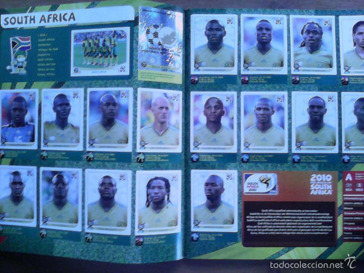 Álbum de fútbol completo: Album Fifa world cup SOUTH AFRICA Mundial Futbol 2010. Completo.Muy Buen estado. Panini - Foto 3 - 57448516