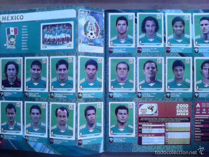 Álbum de fútbol completo: Album Fifa world cup SOUTH AFRICA Mundial Futbol 2010. Completo.Muy Buen estado. Panini - Foto 4 - 57448516