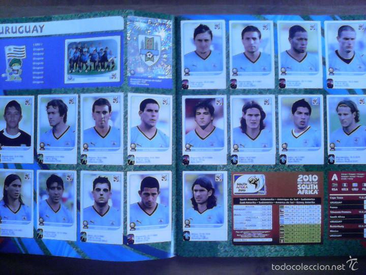 Álbum de fútbol completo: Album Fifa world cup SOUTH AFRICA Mundial Futbol 2010. Completo.Muy Buen estado. Panini - Foto 5 - 57448516
