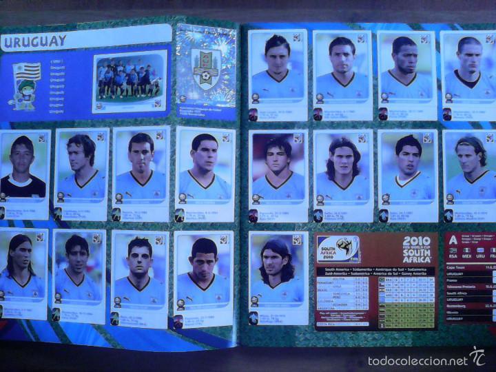 Álbum de fútbol completo: Album Fifa world cup SOUTH AFRICA Mundial Futbol 2010. Completo.Muy Buen estado. Panini - Foto 6 - 57448516