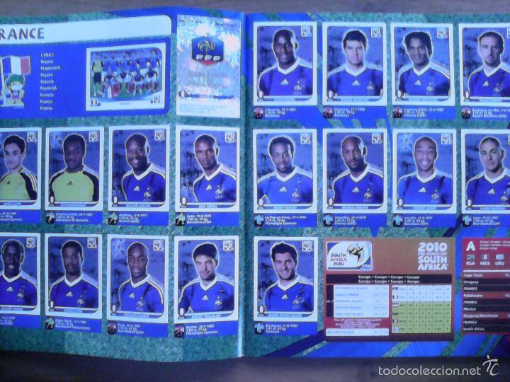 Álbum de fútbol completo: Album Fifa world cup SOUTH AFRICA Mundial Futbol 2010. Completo.Muy Buen estado. Panini - Foto 7 - 57448516
