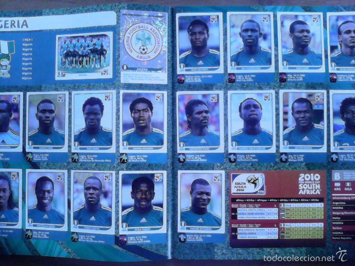 Álbum de fútbol completo: Album Fifa world cup SOUTH AFRICA Mundial Futbol 2010. Completo.Muy Buen estado. Panini - Foto 9 - 57448516