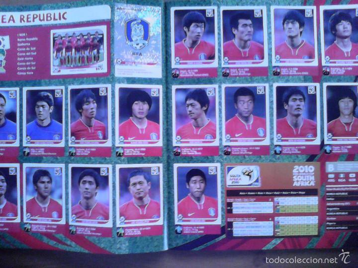 Álbum de fútbol completo: Album Fifa world cup SOUTH AFRICA Mundial Futbol 2010. Completo.Muy Buen estado. Panini - Foto 10 - 57448516