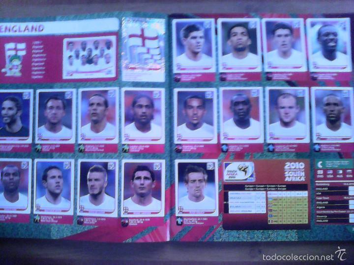 Álbum de fútbol completo: Album Fifa world cup SOUTH AFRICA Mundial Futbol 2010. Completo.Muy Buen estado. Panini - Foto 12 - 57448516