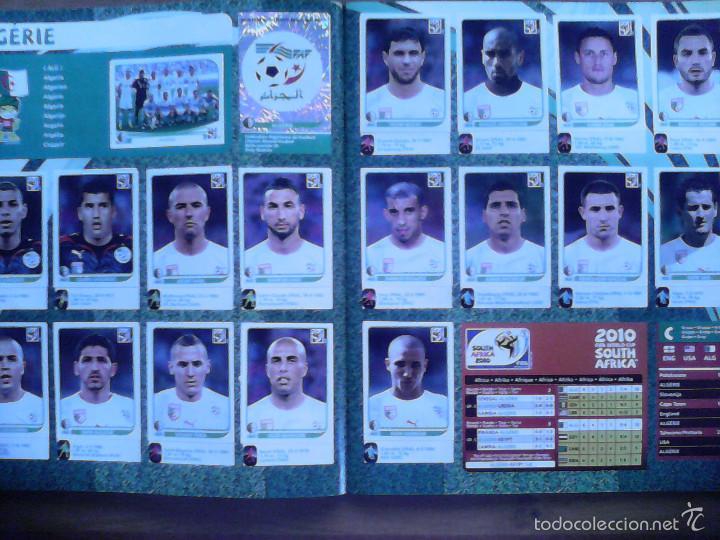 Álbum de fútbol completo: Album Fifa world cup SOUTH AFRICA Mundial Futbol 2010. Completo.Muy Buen estado. Panini - Foto 13 - 57448516