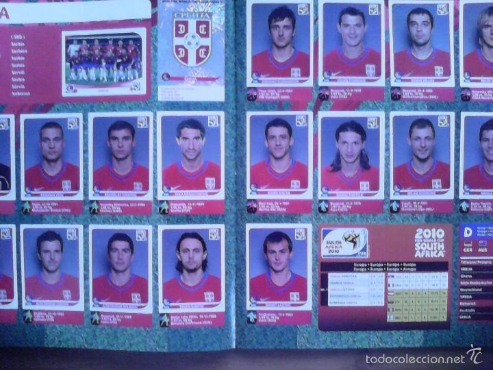 Álbum de fútbol completo: Album Fifa world cup SOUTH AFRICA Mundial Futbol 2010. Completo.Muy Buen estado. Panini - Foto 17 - 57448516
