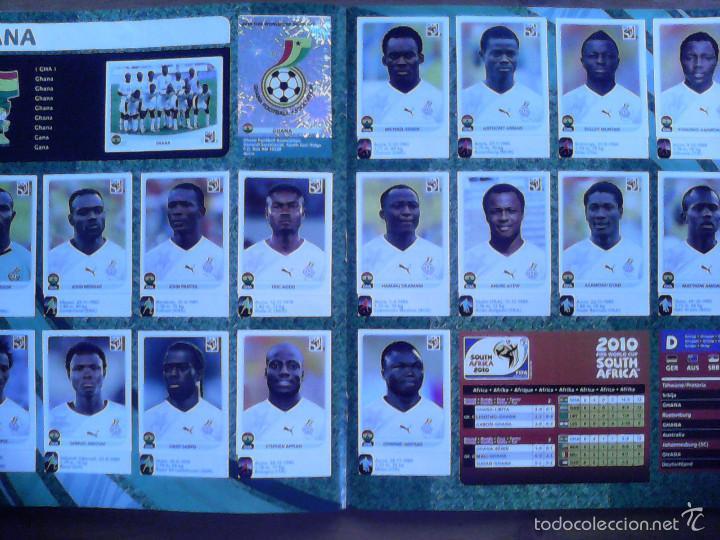 Álbum de fútbol completo: Album Fifa world cup SOUTH AFRICA Mundial Futbol 2010. Completo.Muy Buen estado. Panini - Foto 18 - 57448516