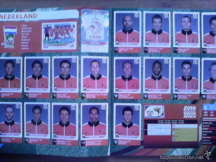 Álbum de fútbol completo: Album Fifa world cup SOUTH AFRICA Mundial Futbol 2010. Completo.Muy Buen estado. Panini - Foto 20 - 57448516