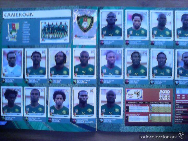 Álbum de fútbol completo: Album Fifa world cup SOUTH AFRICA Mundial Futbol 2010. Completo.Muy Buen estado. Panini - Foto 23 - 57448516