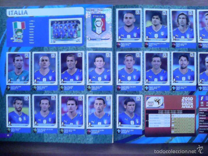 Álbum de fútbol completo: Album Fifa world cup SOUTH AFRICA Mundial Futbol 2010. Completo.Muy Buen estado. Panini - Foto 25 - 57448516