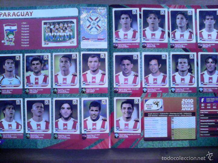 Álbum de fútbol completo: Album Fifa world cup SOUTH AFRICA Mundial Futbol 2010. Completo.Muy Buen estado. Panini - Foto 26 - 57448516