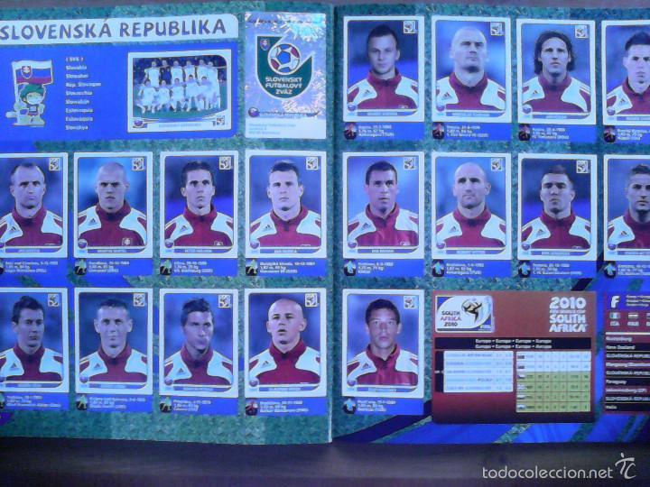 Álbum de fútbol completo: Album Fifa world cup SOUTH AFRICA Mundial Futbol 2010. Completo.Muy Buen estado. Panini - Foto 28 - 57448516