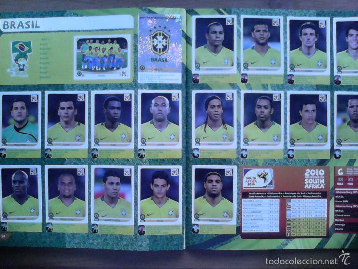 Álbum de fútbol completo: Album Fifa world cup SOUTH AFRICA Mundial Futbol 2010. Completo.Muy Buen estado. Panini - Foto 29 - 57448516