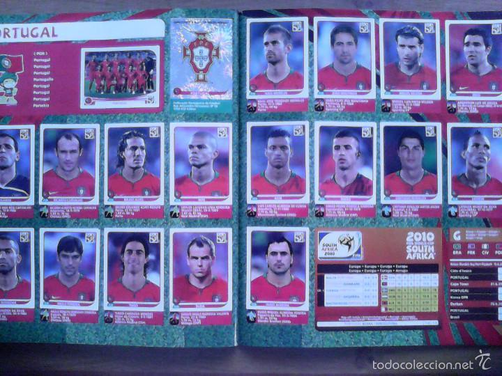 Álbum de fútbol completo: Album Fifa world cup SOUTH AFRICA Mundial Futbol 2010. Completo.Muy Buen estado. Panini - Foto 32 - 57448516