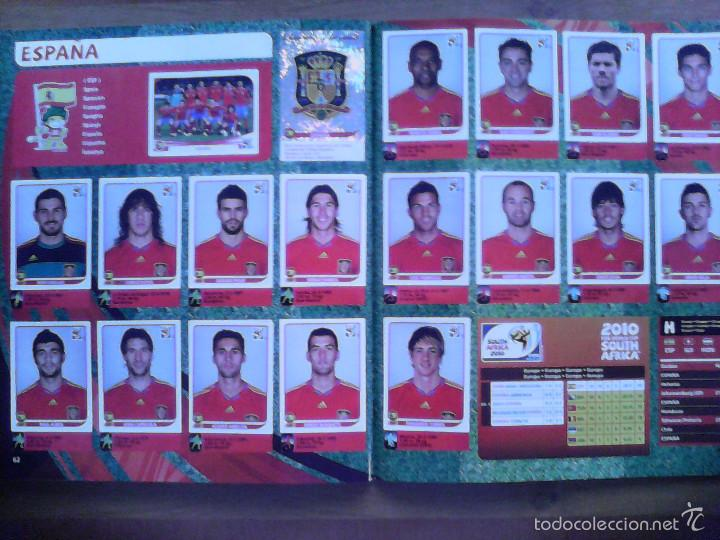 Álbum de fútbol completo: Album Fifa world cup SOUTH AFRICA Mundial Futbol 2010. Completo.Muy Buen estado. Panini - Foto 33 - 57448516