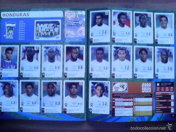 Álbum de fútbol completo: Album Fifa world cup SOUTH AFRICA Mundial Futbol 2010. Completo.Muy Buen estado. Panini - Foto 35 - 57448516