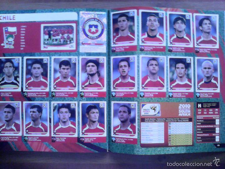 Álbum de fútbol completo: Album Fifa world cup SOUTH AFRICA Mundial Futbol 2010. Completo.Muy Buen estado. Panini - Foto 36 - 57448516