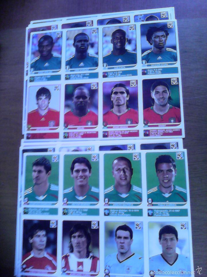 Álbum de fútbol completo: Album Fifa world cup SOUTH AFRICA Mundial Futbol 2010. Completo.Muy Buen estado. Panini - Foto 37 - 57448516