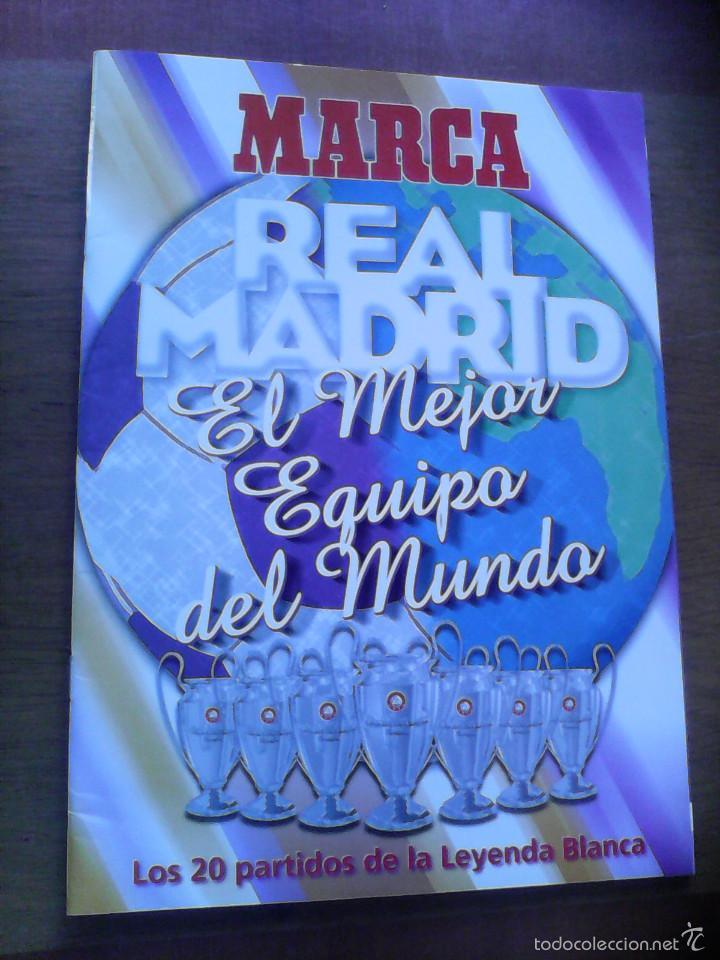 REAL MADRID - EL MEJOR EQUIPO DEL MUNDO - MARCA COMPLETO BUEN ESTADO (Coleccionismo Deportivo - Álbumes y Cromos de Deportes - Álbumes de Fútbol Completos)
