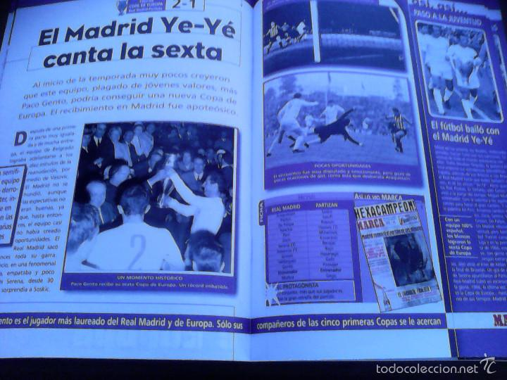 Álbum de fútbol completo: Real Madrid - El mejor equipo del mundo - MARCA COMPLETO BUEN ESTADO - Foto 3 - 57449206