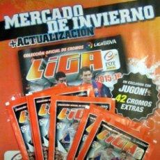 Álbum de fútbol completo: 42 CROMOS FICHAJES DE INVIERNO + ACTUALIZACION LIGA FUTBOL 2015/16 PANINI. Lote 57510370