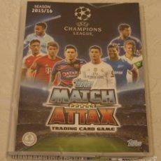 Álbum de fútbol completo: COLECCION UEFA CHAMPIONS LEAGUE 2016 MATCH ATTAX ¡¡¡¡¡¡¡ULTIMA DISPONIBLE!!!!!!!!. Lote 295814608