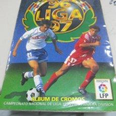 Álbum de fútbol completo: ALBUM LIGA 96 - 97. FUTBOL. COLECCIONES ESTE. COMPLETO CON COLOCAS Y ULTIMOS FICHAJES. VER. Lote 57658307