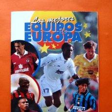 Álbum de fútbol completo: LOS MEJORES EQUIPOS DE EUROPA 96-97,1996-1997- ÁLBUM COMPLETO -PANINI -EXPLICACIONES EN EL INTERIOR. Lote 57695105