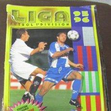 Álbum de fútbol completo: ALBUM COMPLETO. LIGA 95 / 96. FUTBOL 1ª DIVISION. COLECCIONES ESTE. COLOCAS Y ULTIMOS FICHAJES.. Lote 57723245