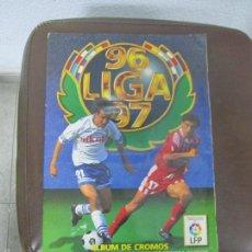 Álbum de fútbol completo: ALBUM LIGA 96 - 97. FUTBOL. COLECCIONES ESTE. COMPLETO CON COLOCAS Y ULTIMOS FICHAJES. VER. Lote 57723324