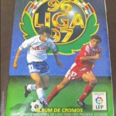Álbum de fútbol completo: ALBUM LIGA 96 - 97. FUTBOL. COLECCIONES ESTE. COMPLETO CON COLOCAS Y ULTIMOS FICHAJES. VER. Lote 57723526