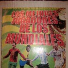 Álbum de fútbol completo: ALBUM CROMOS LOS MEJORES JUGADORES DE LA COPA MUNDIAL COMPLETO TODOSPORT PERÚ EDICION . Lote 57758513