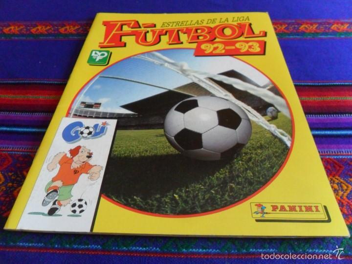 ESTRELLAS DE LA LIGA FÚTBOL 92 93 COMPLETO. PANINI. MUY BUEN ESTADO REGALO ESTE 83 84 Y 93 94. (Coleccionismo Deportivo - Álbumes y Cromos de Deportes - Álbumes de Fútbol Completos)
