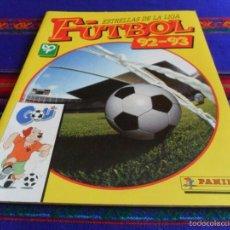 Álbum de fútbol completo: ESTRELLAS DE LA LIGA FÚTBOL 92 93 COMPLETO. PANINI. MUY BUEN ESTADO REGALO ESTE 83 84 Y 93 94.. Lote 57830404