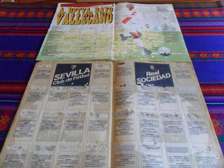 Álbum de fútbol completo: ESTRELLAS DE LA LIGA FÚTBOL 92 93 COMPLETO. PANINI. MUY BUEN ESTADO REGALO ESTE 83 84 Y 93 94. - Foto 4 - 57830404