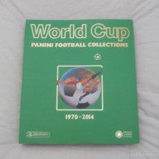 Álbum de fútbol completo: ALBUM PANINI. LIBRO FACSÍMIL MUNDIAL DE FÚTBOL. WORLD CUP 1970-2014. Lote 57947328