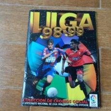 Álbum de fútbol completo: ALBUM ESTE LIGA 1998 - 1999 ( 98 - 99 ) COMPLETO A FALTA DE POCOS ULTIMOS FICHAJES CON 475 CROMOS. Lote 57986814