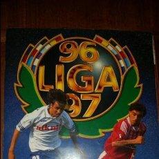 Álbum de fútbol completo: ALBUM LIGA 96/97.COMPLETO MAS 166 COLOCAS TODOS LOS ULTIMOS FICHAJES MAS 14 ULTIMOS FICHAJES COLOCAS. Lote 58112127