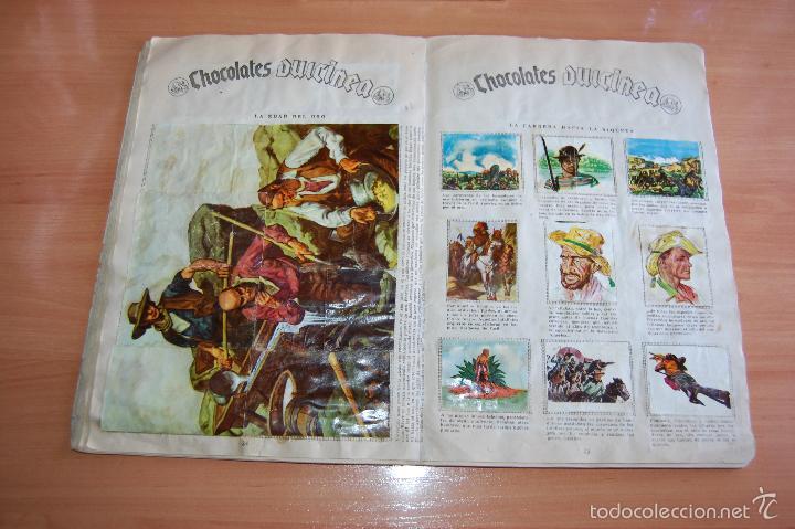 Álbum de fútbol completo: ALBUM CROMOS COMPLETO ESTRELLAS DEL FUTBOL E INDIOS Y PIONEROS CHOCOLATES DULCINEA - Foto 5 - 58117054