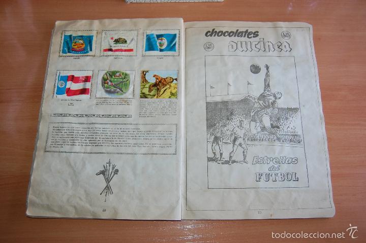 Álbum de fútbol completo: ALBUM CROMOS COMPLETO ESTRELLAS DEL FUTBOL E INDIOS Y PIONEROS CHOCOLATES DULCINEA - Foto 7 - 58117054